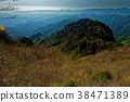 신록의 両神山에서 치치 부 방면 전망 38471389