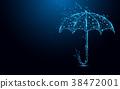 傘 抽象 向量 38472001