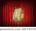 theater, curtain, microphone 38474559