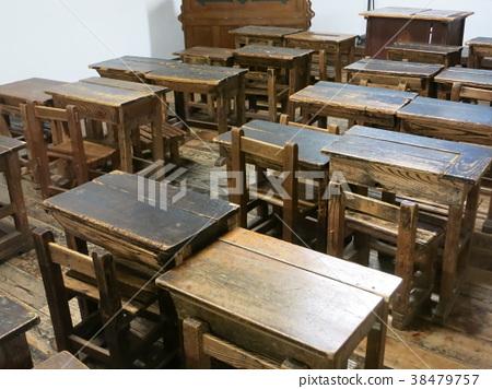 옛날 초등학교 교실 풍경 38479757