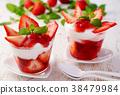 딸기 요구르트 38479984