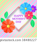 Colorful greeting card 38480227