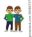 쌍둥이, 형제, 남매 38480737