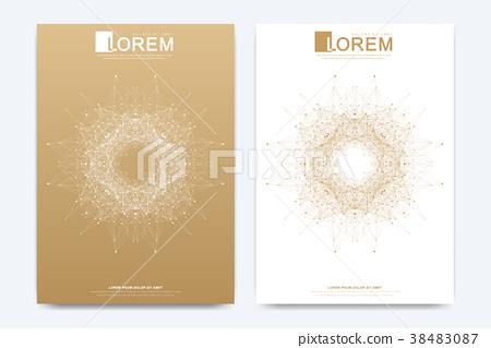 Modern vector template for brochure Leaflet flyer 38483087