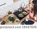 healthy,woman,breakfast 38487696