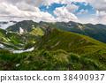 mountain, ridge, valley 38490937