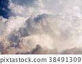 A huge cumulus cloud. 38491309