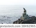美人魚 海 海邊 38492965