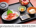 生魚片套餐 38493294