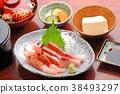 生魚片套餐 38493297