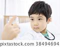 역할놀이,병원놀이,어린이,한국인 38494694