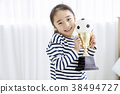 여자아이, 어린이, 여자 38494727
