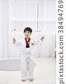태권도,어린이,한국인 38494769