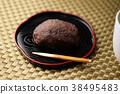 인절미 떡 모란 떡 떡 과자 과자 일본 음식 달콤한 단팥 팥 38495483