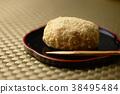 인절미 떡 모란 떡 떡 과자 과자 일본 음식 달콤한 단팥 팥 38495484