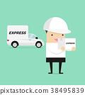 盒子 箱子 汽车 38495839