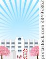 cherry, blossom, tree 38495862