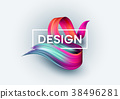 poster vector stain 38496281