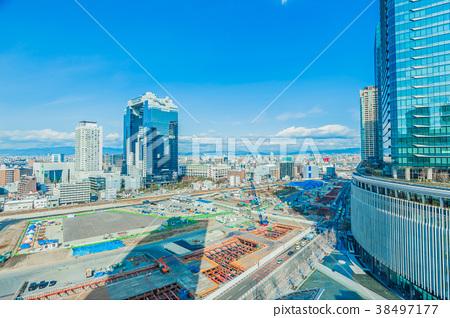 Osaka Cityscape Building 38497177