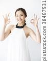 여성 모델 포즈 38497531