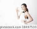 여성 모델 포즈 38497533
