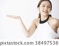 女模特的姿勢 38497536