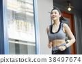 女子体育跑步 38497674