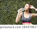 여성 스포츠 달리기 38497863