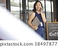 女人商务咖啡馆 38497877