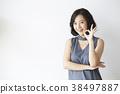 여성 모델 포즈 38497887