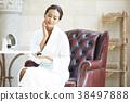 亞洲女人皮膚護理 38497888