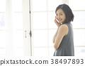 人物 肖像 女生 38497893