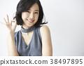 女模特的姿勢 38497895