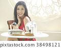 亚洲女人皮肤护理 38498121