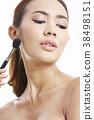 亞洲女性美容系列化妝 38498151