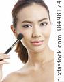 亞洲女性美容系列化妝 38498174