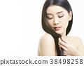 아시아 여성의 미용 시리즈 38498258
