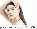 人物 肖像 女生 38498263