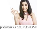 人物 成熟的女人 一個年輕成年女性 38498350