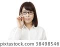 안경 여성 38498546