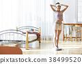 다이어트를 즐기는 여성 38499520