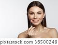 lipstick, make-up, woman 38500249