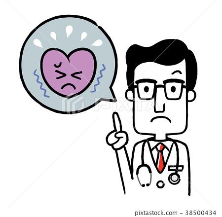 의사 : 심장 38500434