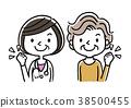의사와 환자 수석 여성 38500455
