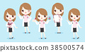 cartoon woman doctor 38500574