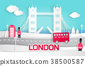 cartoon london city 38500587