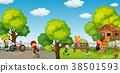 child, park, garden 38501593