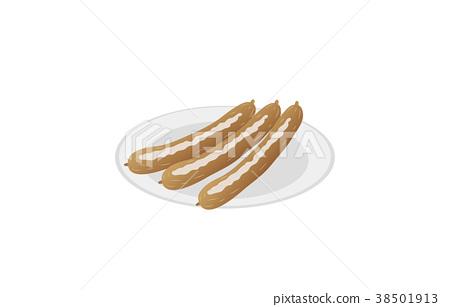 矢量 食品 原料 38501913