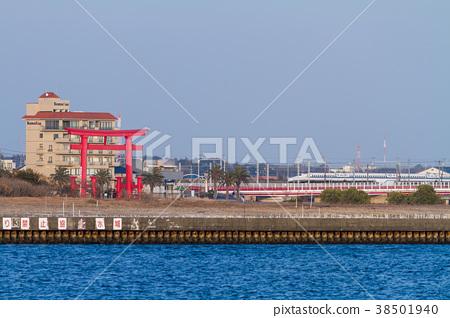 [靜岡縣] Lake Hamana Torii Shinkansen 38501940