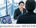 商人,商務談話,提案,會議 38502346